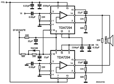 Pusat ilmu pengetahuan berbagi ilmu pengetahuan laman 7 rangkaian ic tda7294 120 watt audio power amplifier circuit ccuart Image collections
